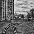 Grain Elevators 15222 by Guy Whiteley