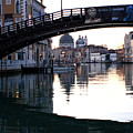 Grand Canal In Venice At Sunrise by Michael Henderson
