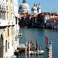 Grand Canal In Venice From Accademia Bridge by Michael Henderson