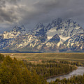 Grand Tetons Snake River by Charles Warren