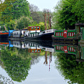 Grand Union Canal Cowley West London by Chris Day