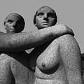 Gray Nudes In Oslo by Carl Purcell