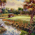 Great Day For Golf by Dianna Willman
