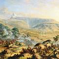 Great Peak Of The Amatola-british-kaffraria  by Thomas Baines
