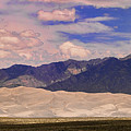 Great Sand Dunes Panorama 2 by James BO  Insogna