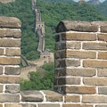 Great Wall From A Tower by Angela Siener