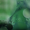 Green Abstract by Roger Mullenhour