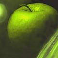 Green Apple Drama by Ian  MacDonald