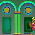 Green Doors by Charles Stuart