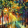 Green Dreams by Leonid Afremov