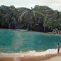Green Lagoon by Keith Bagg