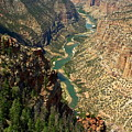 Green River Carving Canyon by Sally Weigand