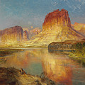 Green River Of Wyoming by Thomas Moran