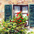 Green Shutters by Marsha Young