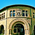 Greeting Card Landmark Stanford University by Amy Delaine