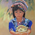 Guatemalan Girl by Suzanne Cerny
