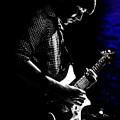 Guitar Man In Blue by Meirion Matthias