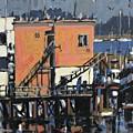 Gulls Aloft by Brian Simons