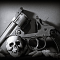 Gun And Skull by Scott Wyatt