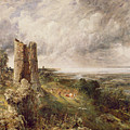 Hadleigh Castle by John Constable