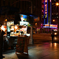 Halal Vendor At Radio City Music Hall by Lee Dos Santos