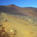 Haleakala Sliding Sands Trail In Volcano by John Burk