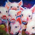 Half Dozen Piglets by Marcia Baldwin