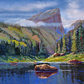 Hallett Peak by Heather Coen