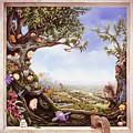 Hamster Tree Window by Mary Johnson