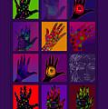 Hands Poster by Lydia L Kramer