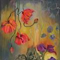 Hanging Popies by Martha Zausmer paul