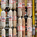 Hanging Salami by Wingsdomain Art and Photography