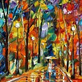 Happiness From Nature by Leonid Afremov
