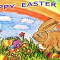 Happy Easter by Monica Engeler