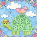 Happy Turtle by Hillary James