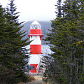 Harbor Breton Lighthouse by Barbara Griffin