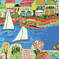 Harbor Of Gardens  by Karen Fields