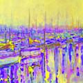 Harbor Sunrise II  Seven Am by Kip Decker
