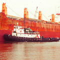 Harbor Tugboat by Fred Jinkins