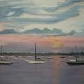 Harbor Twilight by Nancy Nuce