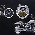 Harley Davidson 105th Anniversary by Richard Le Page