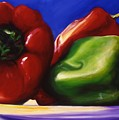 Harvest Festival Peppers by Shannon Grissom