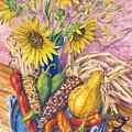 Harvest Meow by John Rose