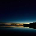 Haukkajarvi By Night With Ursa Major 1 by Jouko Lehto