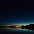 Haukkajarvi By Night With Ursa Major 2 by Jouko Lehto