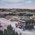 Hauling Uranium Ore 1952 by Lee Bowerman