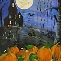 Haunted Night by Sylvia Pimental