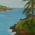Hawaii Cliffs by Dottie Briggs