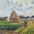 Haystacks by Camille Pissarro