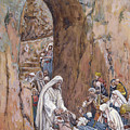 He Did No Miracles Save That He Healed Them by Tissot